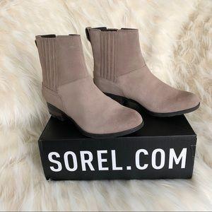 Sorel Waterproof Ankle Chelsea Booties